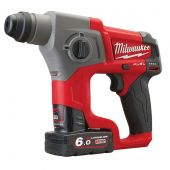 Milwaukee M12 CH-602X FUEL - aku kladivo SDS