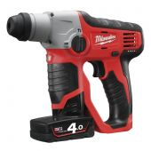 Milwaukee M12 H-402C - aku kladivo SDS-plus