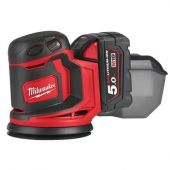 MILWAUKEE M18BOS125-502B BTY.EXCENTRICKÁ BRUSKA IN2